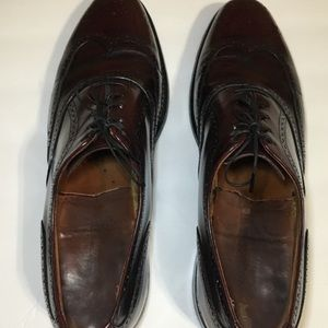 Austin Reed Shoes - Austin Reed Cherry Brown Wing Tip Shoes size 11 N